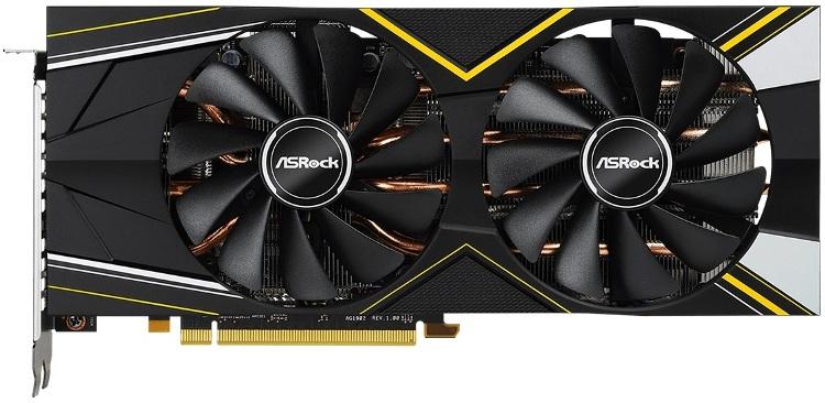 Видеокарта ASRock Radeon RX 5700 (RX5700 CLD 8GO) 8Gb 1425 MHz AMD RX 5700/GDDR6 14000Mhz/256bit/PCI-E 16x/DP, HDMI цена и фото
