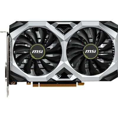 Видеокарта MSI GeForce GTX1660 Ti (GTX 1660 TI VENTUS XS 6G V1) 6Gb 1536 MHz NVIDIA GTX 1660 Ti/GDDR6 12000Mhz/192bit/PCI-E 16x/DP, HDMI, DVI видеокарта msi geforce gtx 1070 ti gtx 1070 ti gaming 8g pci e 8192mb 256 bit retail