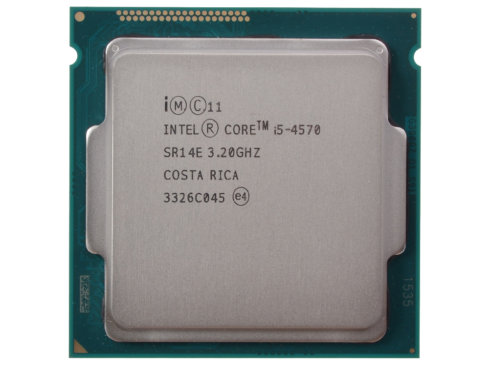 Процессор Intel Core i5-4570 OEM (TPD 84W, 4/4, Base 3.20GHz - Turbo 3.6GHz, 6Mb, LGA1150 (Haswell)) процессор intel core i5 4570 box tpd 84w 4 4 base 3 20ghz turbo 3 6 ghz 6mb lga1150 haswell