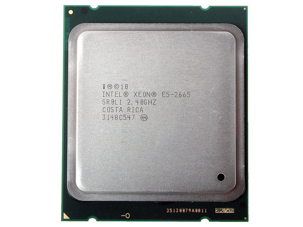 Процессор Xeon E5-2665 OEM (2,40GHz, 8GT/s, 20Mb Cache, Socket2011) cache replacement
