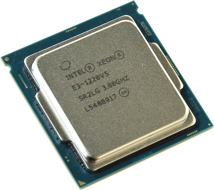Процессор Intel Xeon E3-1220v5 3.0GHz 8Mb LGA1151 OEM цена