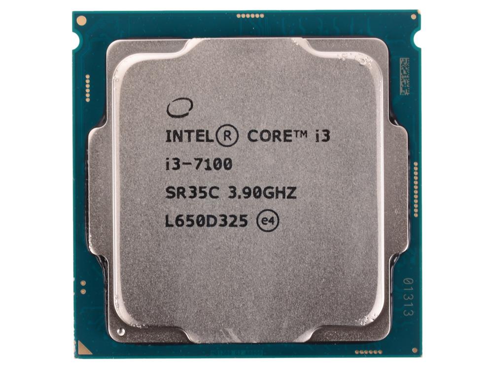 Процессор Intel Core i3-7100 OEM TPD 51W, 2/4, Base 3.9GHz, 3Mb, LGA1151 (Kaby Lake) процессор intel core i3 6100 oem 3 7ghz 3mb lga1151 skylake