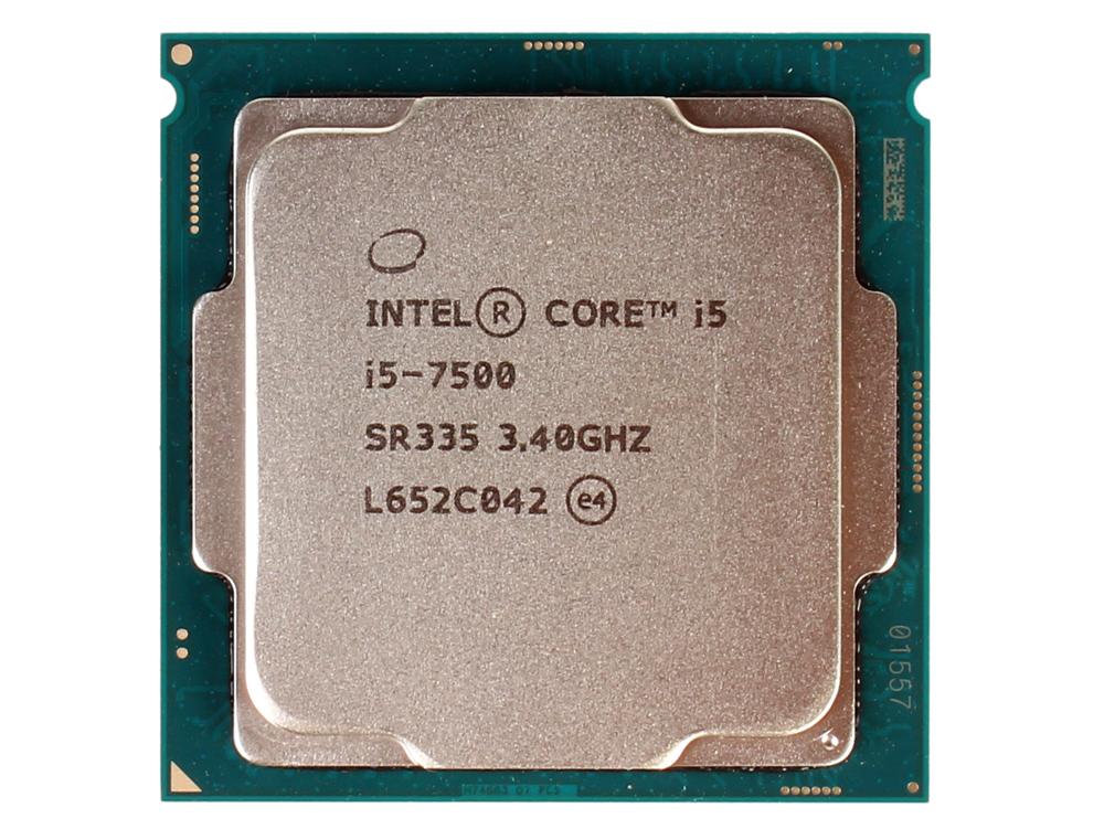 Процессор Intel Core i5-7500 OEM TPD 65W, 4/4, Base 3.4GHz - Turbo 3.8 GHz, 6Mb, LGA1151 (Kaby Lake) процессор intel core i5 7500 kaby lake 3400mhz lga1151 l3 6144kb