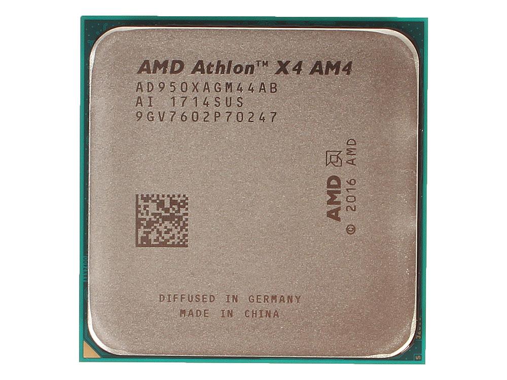 Процессор AMD Athlon X4 950 OEM 65W, 4C/4T, 3.8Gh(Max), 2MB(L2-2MB), AM4 (AD950XAGM44AB) цены