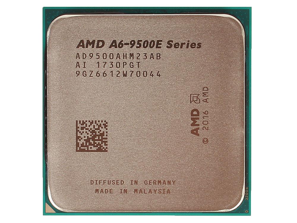 Процессор AMD A6 9500E BOX 35W, 2C/2T, 3.4Gh(Max), 1MB(L2-1MB), AM4 (AD9500AHABBOX) процессор amd a6 7480 oem radeon r5 series 65w 2c 2t 3 8gh max 1mb fm2 ad7480aci23ab