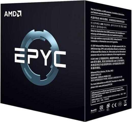 Процессор AMD EPYC Model 7351 16 core, 2.4 Gh, SP3 (PS7351BEAFWOF) las50 tp sp3