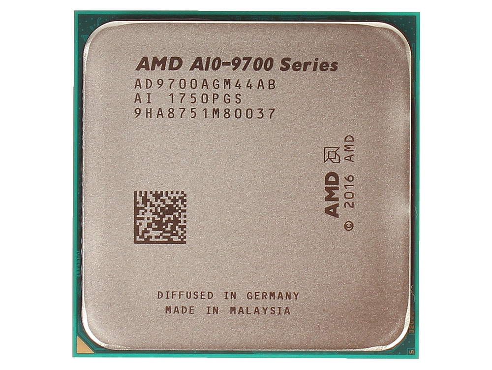 Процессор AMD A10 9700 BOX 65W, 4C/4T, 3.8Gh(Max), 2MB(L2-2MB), AM4 (AD9700AGABBOX)