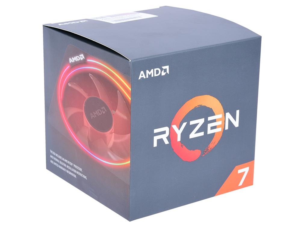 Процессор AMD Ryzen 7 2700X BOX (105W, 8C/16T, 4.35Gh(Max), 20MB(L2+L3), AM4) (YD270XBGAFBOX) цены