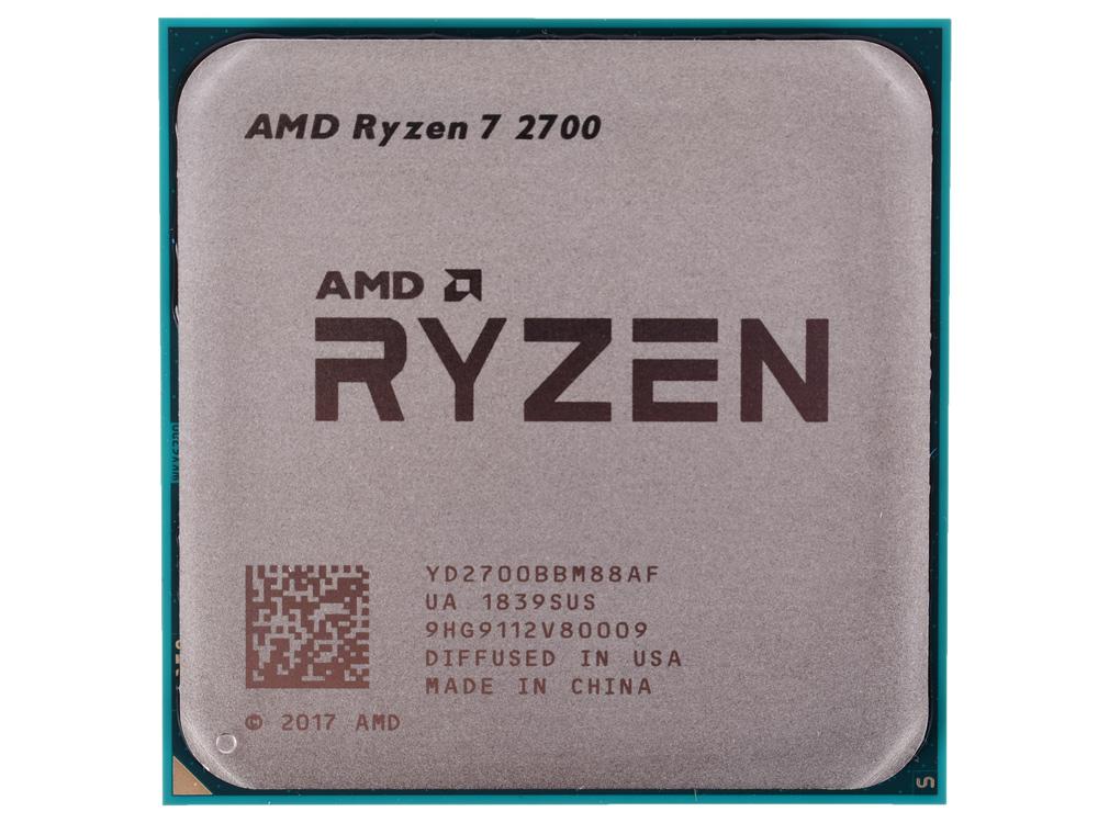 Процессор AMD Ryzen 7 2700 OEM (65W, 8C/16T, 4.1Gh(Max), 20MB(L2+L3), AM4) (YD2700BBM88AF) фото