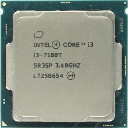Процессор Intel Core i3-7100T 3.4GHz 3Mb Socket 1151 OEM процессор intel pentium dual core g4600 soc 1151 3 6ghz hd graphics 630 oem