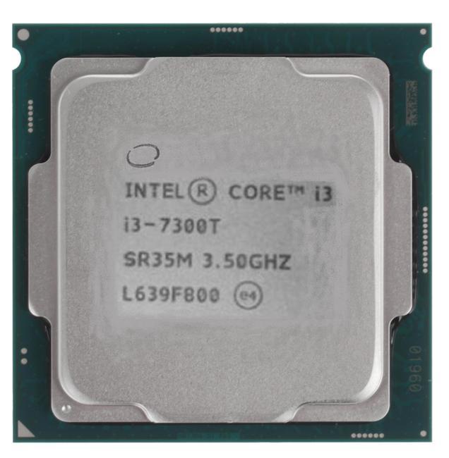 Процессор Intel Core i3-7300T 3.5GHz 4Mb Socket 1151 OEM процессор intel pentium dual core g4600 soc 1151 3 6ghz hd graphics 630 oem