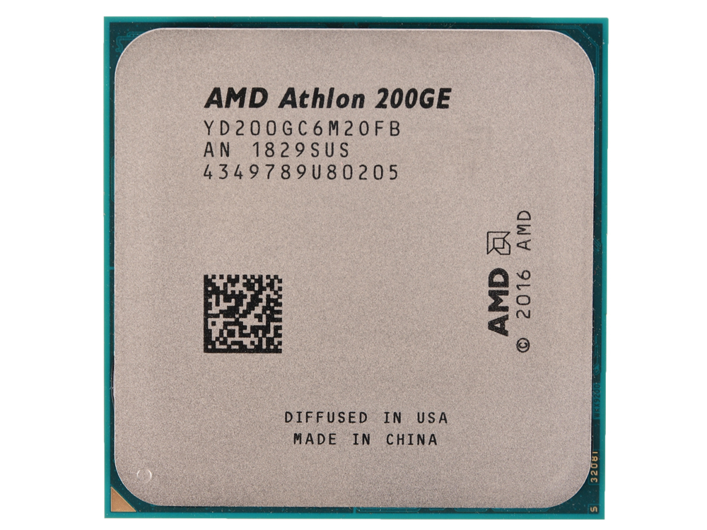 Процессор AMD Athlon 200GE OEM Radeon Vega Graphics 35W, 2C/4T, 3.2Gh(Max), 5MB(L2+L3), AM4 (YD200GC6M2OFB) 50mm f1 8 aps c cctv tv movie c mount lens for nex5 7 a6500 a7 m43 gh4 gf6 fx xt10 xt20 xt1 n1 eosm m2 m3 mirrorless camera
