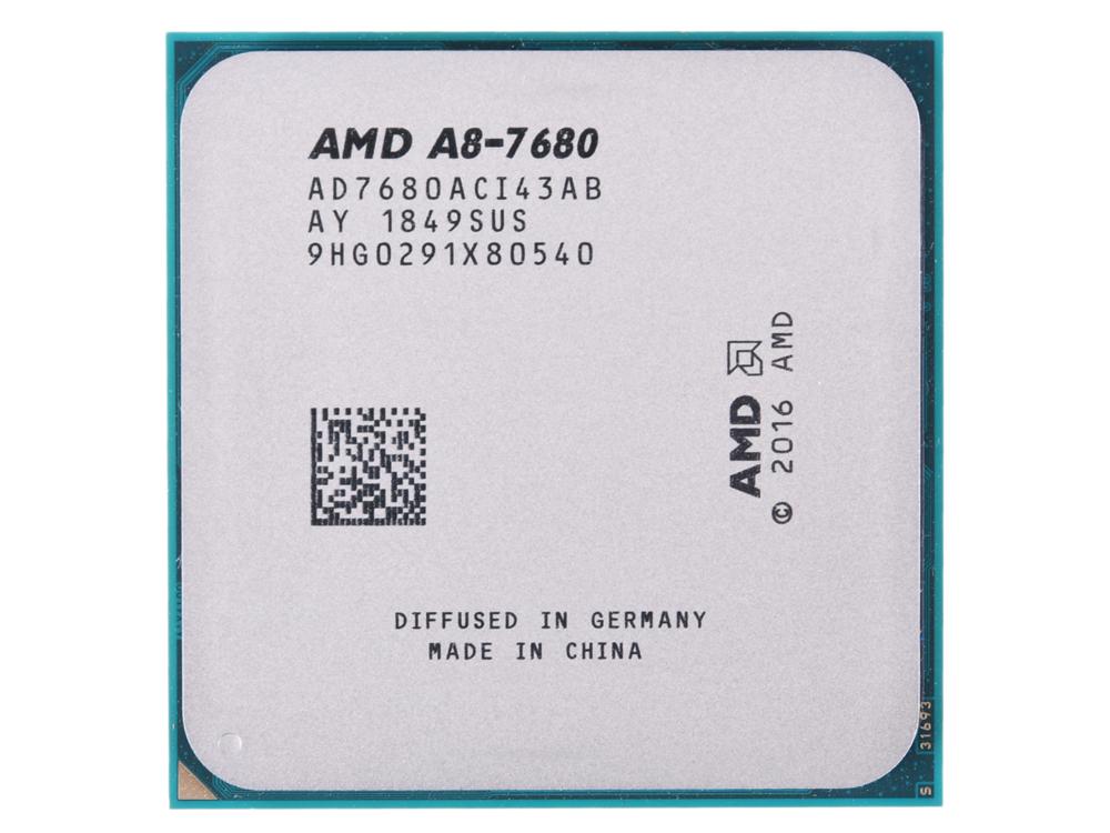 Процессор AMD A8 7680 OEM 65W, 4core, 3.8Gh(Max), 2MB, Carrizo, FM2+ (AD7680ACI43AB) все цены