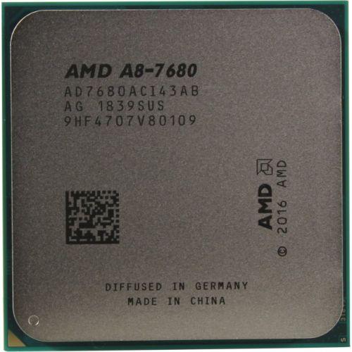Процессор AMD A8 7680 OEM 65W, 4core, 3.8Gh(Max), 2MB, Carrizo, FM2+ (AD7680ACI43AB)
