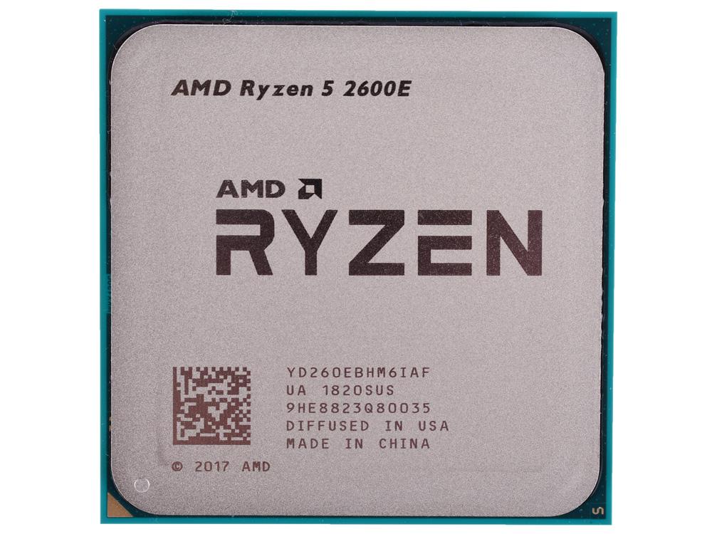 Процессор AMD Ryzen 5 2600E OEM 45W, 6C/12T, 4.0Gh(Max), 19MB(L2+L3), AM4 (YD260EBHM6IAF) компьютерные аксессуары oem 5pcs ipad wifi 3g gps