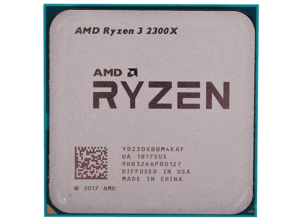 Процессор AMD Ryzen 3 2300X OEM 65W, 4C/4T, 4.0Gh(Max), 10MB(L2+L3), AM4 (YD230XBBM4KAF)