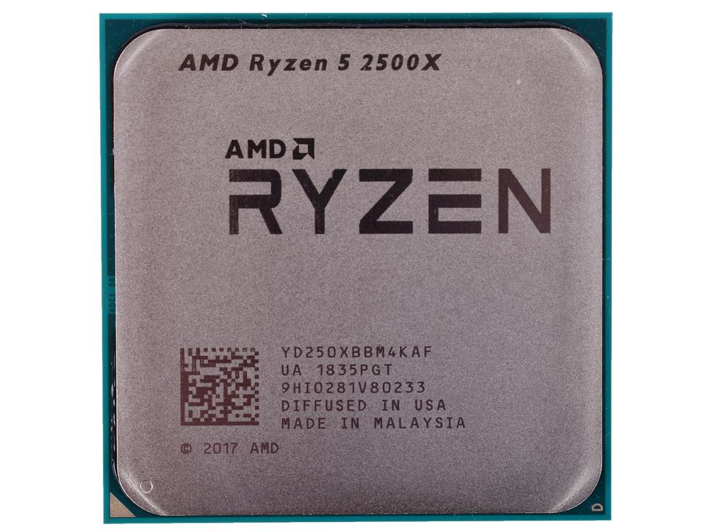 Процессор AMD Ryzen 5 2500X OEM 65W, 4C/8T, 4.0Gh(Max), 10MB(L2+L3), AM4 (YD250XBBM4KAF)
