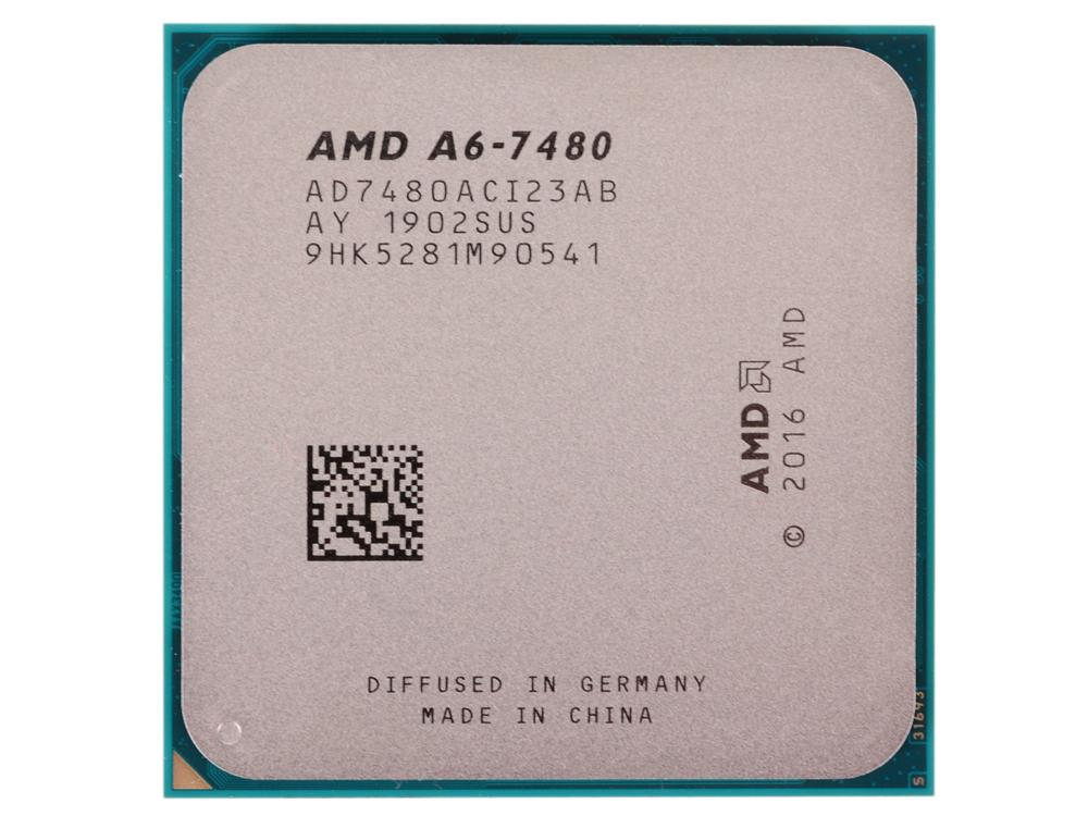 все цены на Процессор AMD A6 7480 OEM Radeon R5 Series 65W, 2C/2T, 3.8Gh(Max), 1MB, FM2+ (AD7480ACI23AB) онлайн