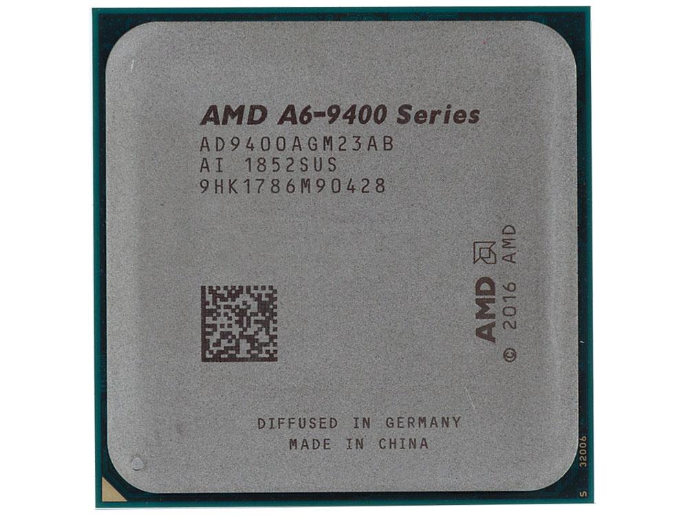 Процессор AMD A6 9400 OEM 65W, 2C/2T, 3.7Gh(Max), 1MB(L2-1MB), AM4 (AD9400AGM23AB) цены