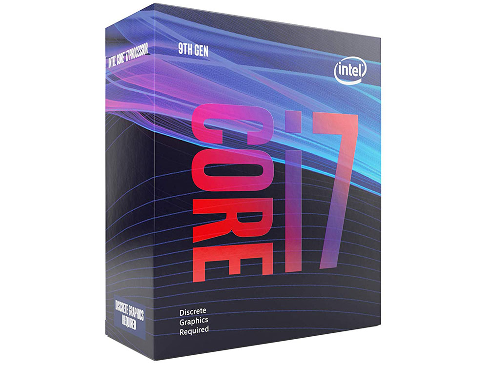 Процессор Intel Core i7-9700F BOX TPD 65W, 8/8, Base 3.0GHz - Turbo 4.7GHz, 12Mb, LGA1151 (Coffee Lake) (without graphics) цена 2017