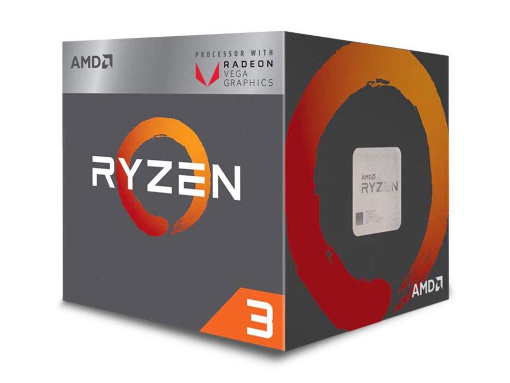 Процессор AMD Ryzen 3 3200G BOX Radeon Wraith Stealth cooler RX Vega 8 Graphics (65W, 4C/4T, 4.0Gh(Max), 6MB(L2+L3), AM4) (YD3200C5FHBOX) процессор amd a6 7480 oem radeon r5 series 65w 2c 2t 3 8gh max 1mb fm2 ad7480aci23ab