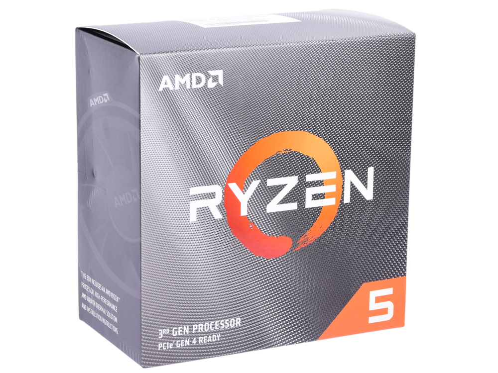 Процессор AMD Ryzen 5 3600 BOX Wraith Stealth cooler (65W, 6C/12T, 4.2Gh(Max), 36MB(L2+L3), AM4) (100-100000031BOX) процессор amd ryzen 5 3600 oem 65w 6c 12t 4 2gh max 36mb l2 l3 am4 100 000000031