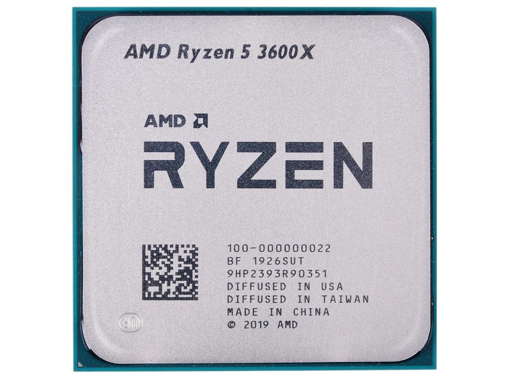 Процессор AMD Ryzen 5 3600X OEM 95W, 6C/12T, 4.4Gh(Max), 36MB(L2+L3), AM4 (100-000000022)
