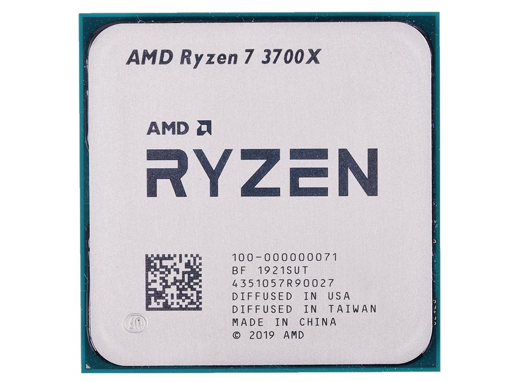 Процессор AMD Ryzen 7 3700X OEM 65W, 8C/16T, 4.4Gh(Max), 36MB(L2+L3), AM4 (100-000000071)