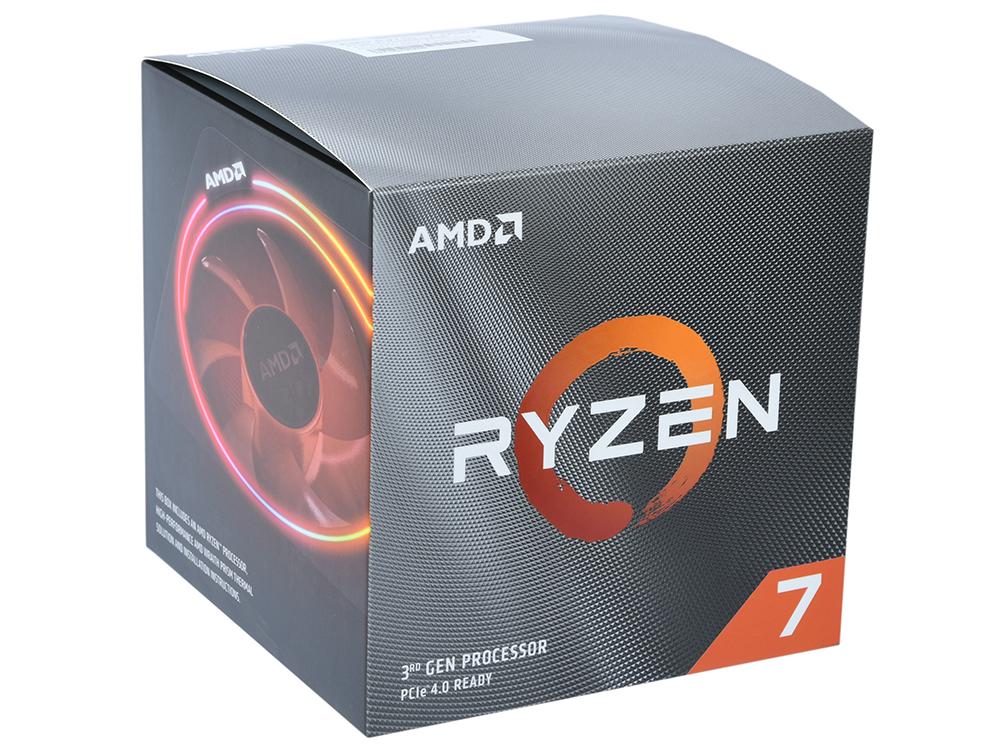 Процессор AMD Ryzen 7 3700X BOX 65W, 8C/16T, 4.4Gh(Max), 36MB(L2+L3), AM4 (100-100000071BOX)