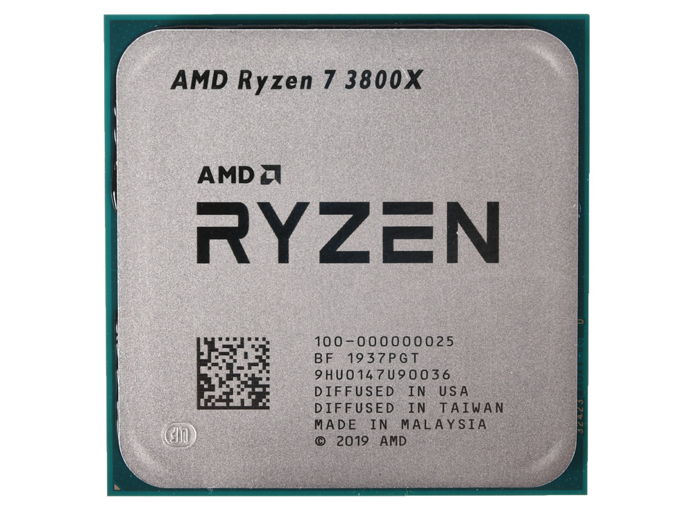 Процессор AMD Ryzen 7 3800X OEM 105W, 8C/16T, 4.5Gh(Max), 36MB(L2+L3), AM4