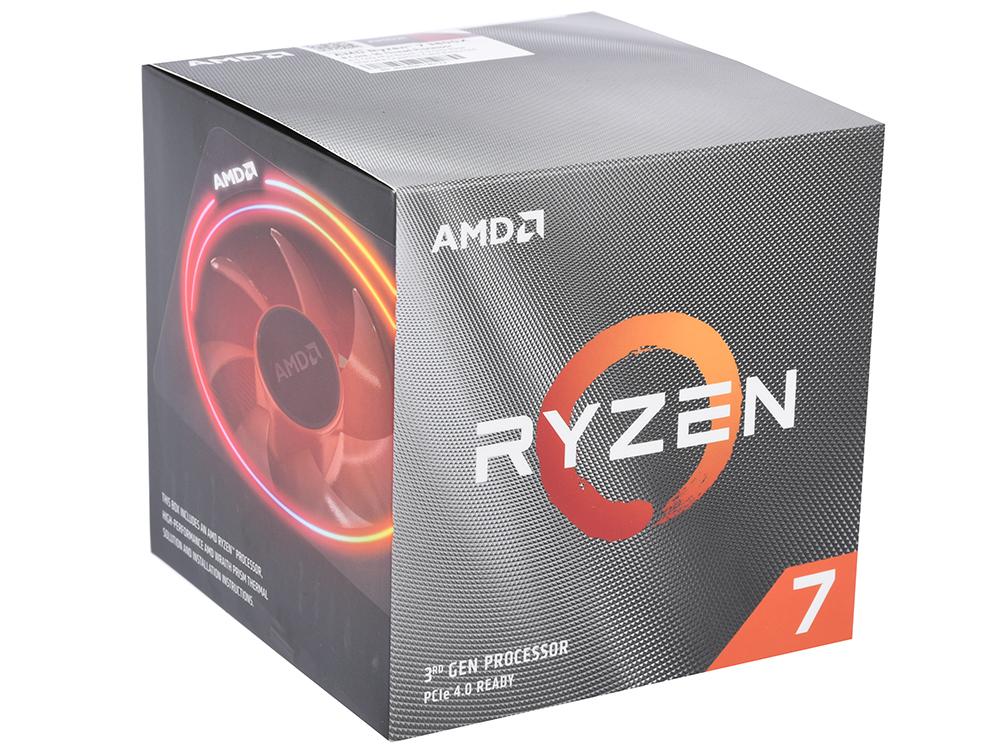 Процессор AMD Ryzen 7 3800X BOX Wraith Prism cooler 105W, 8C/16T, 4.5Gh(Max), 36MB(L2+L3), AM4 (100-100000025BOX)