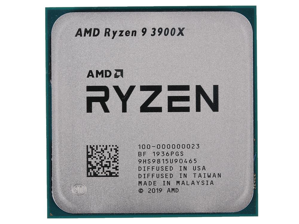 Процессор AMD Ryzen 9 3900X OEM 105W, 12C/24T, 4.6Gh(Max), 70MB(L2+L3), AM4 (100-000000023)