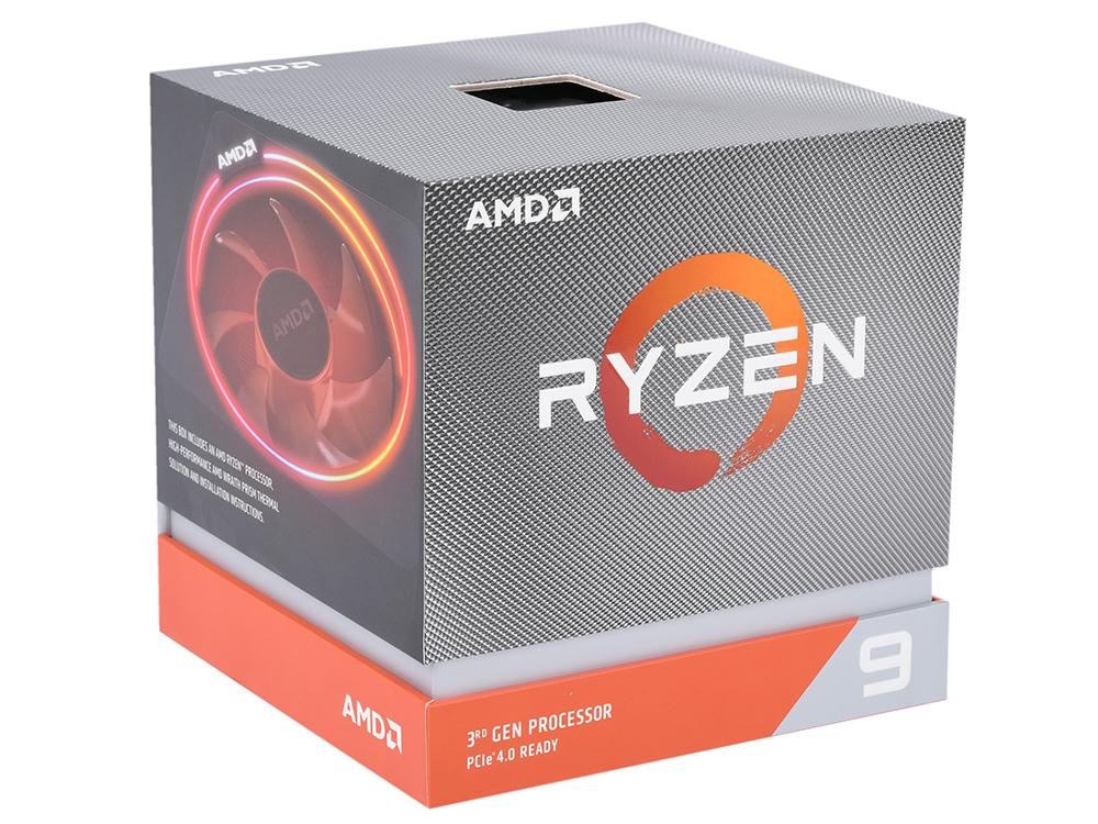 Процессор AMD Ryzen 9 3900X BOX 105W, 12C/24T, 4.6Gh(Max), 70MB(L2+L3), AM4 фото