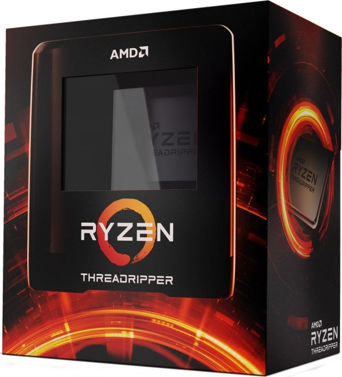 Процессор AMD Ryzen Threadripper 3970X WOF 280W, 32C/64T, 4.5Gh(Max), 128MB(L2+L3), sTRX4 (100-100000011WOF)