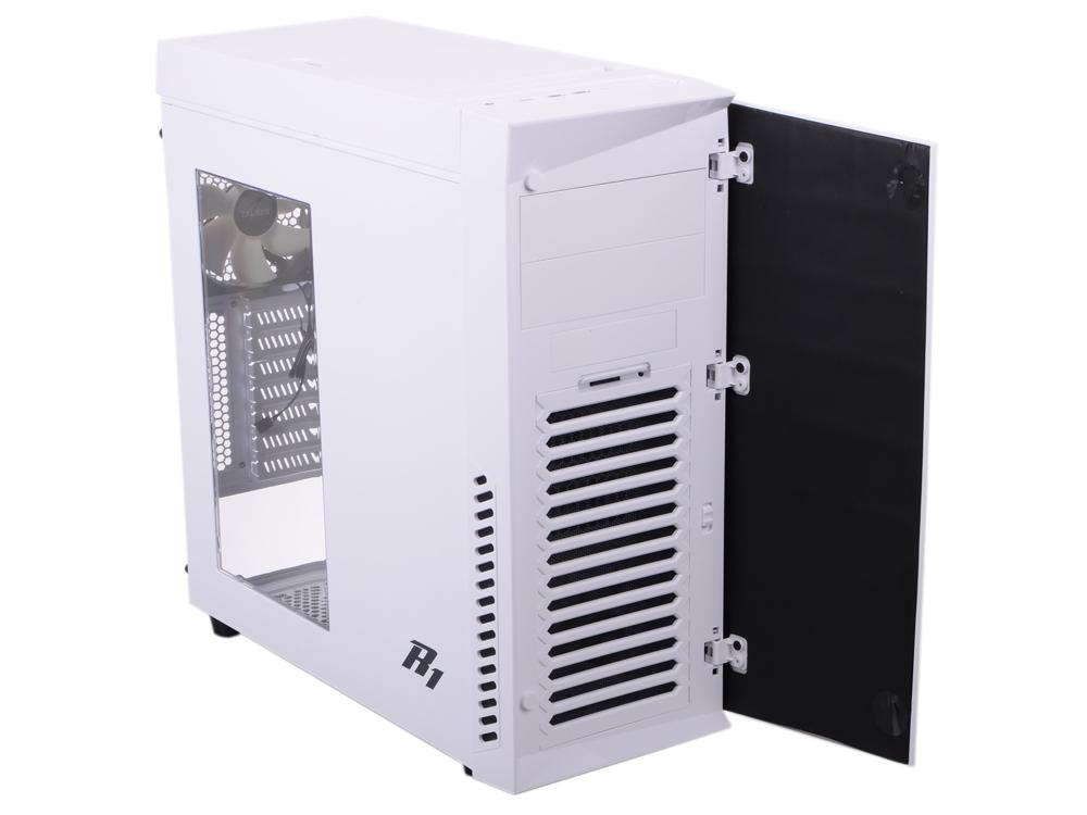 Корпус Zalman R1 White w\o PSU вентилятор 120x120 zalman zm f3 str 3 pack