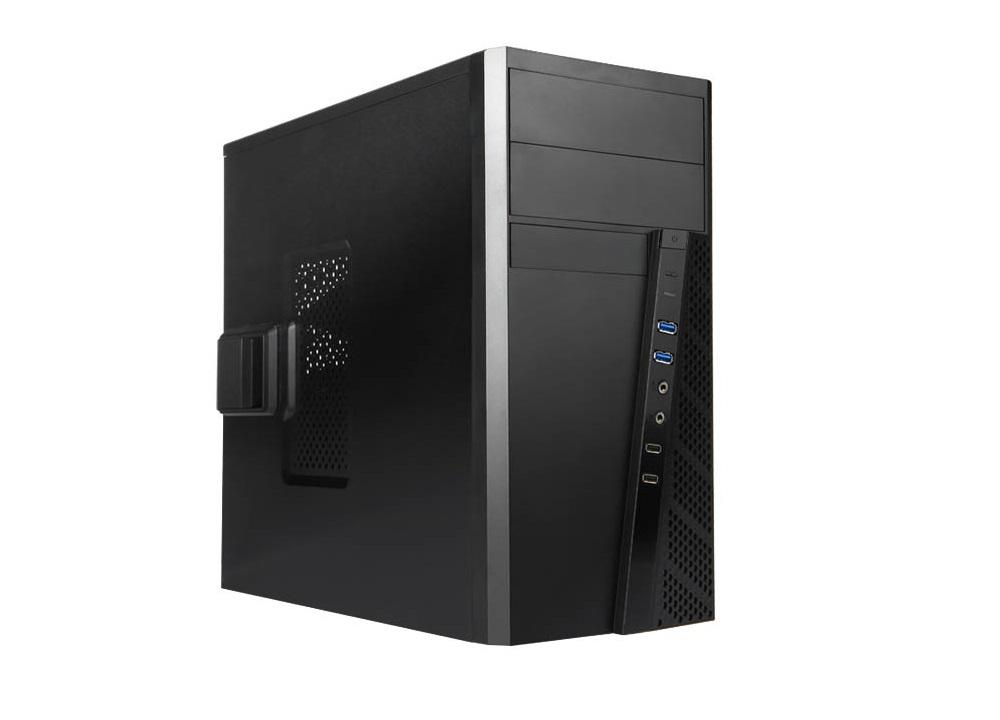 Корпус microATX InWin EFS057 500 Вт чёрный EFS057RB-S500HQ70 цена
