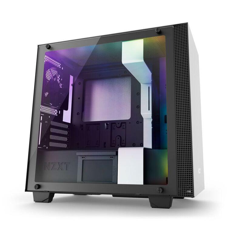 все цены на Корпус microATX NZXT H400I Без БП белый CA-H400W-WB онлайн