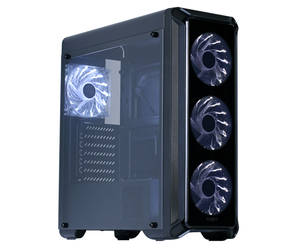 Корпус Zalman i3 edge Black без БП цена