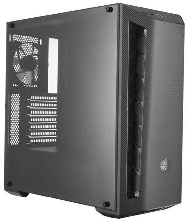 Корпус Cooler Master MasterBox MB510L 2xUSB3.0, 1x120 Fan, w/o PSU, Black, Black Trim, ATX