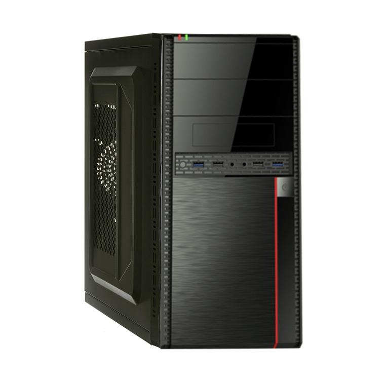 Корпус Exegate Minitower MA-371X Black mATX UN450, 120mm, 2 USB+2 USB 3.0, Audio  - купить со скидкой