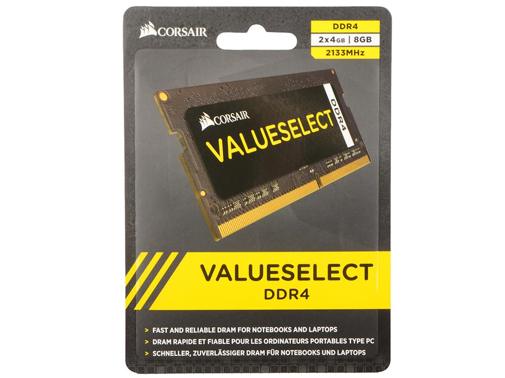 Оперативная память для ноутбуков Corsair CMSO8GX4M2A2133C15 SO-DIMM 8GB DDR4 2133MHz SO-DIMM 260-pin/PC-17000/CL15