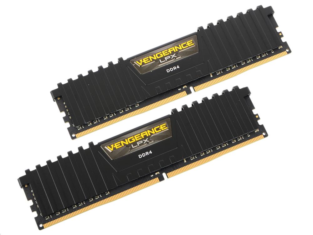 Оперативная память Corsair CMK16GX4M2B3200C16 16GB(2х8GB) DDR4 3200MHz 288-pin 1.35В DDR4 DIMM x2/pc4-25600/CL16 цены онлайн
