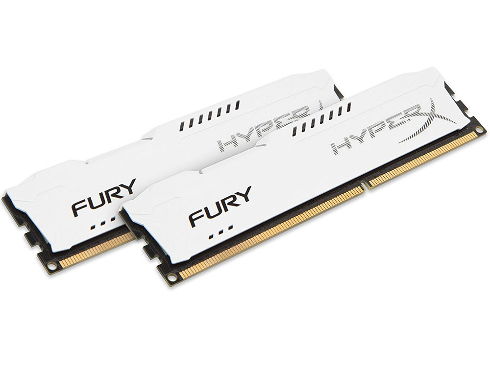 Оперативная память Kingston HyperX FURY HX313C9FWK2/8 DIMM 8Gb (2x4Gb) DDR3 1333MHz DIMM 240-pin/PC-10600/CL9 оперативная память 2gb 1x2gb pc3 10600 1333mhz ddr3 dimm cl9 foxline fl1333d3u9s1 2g