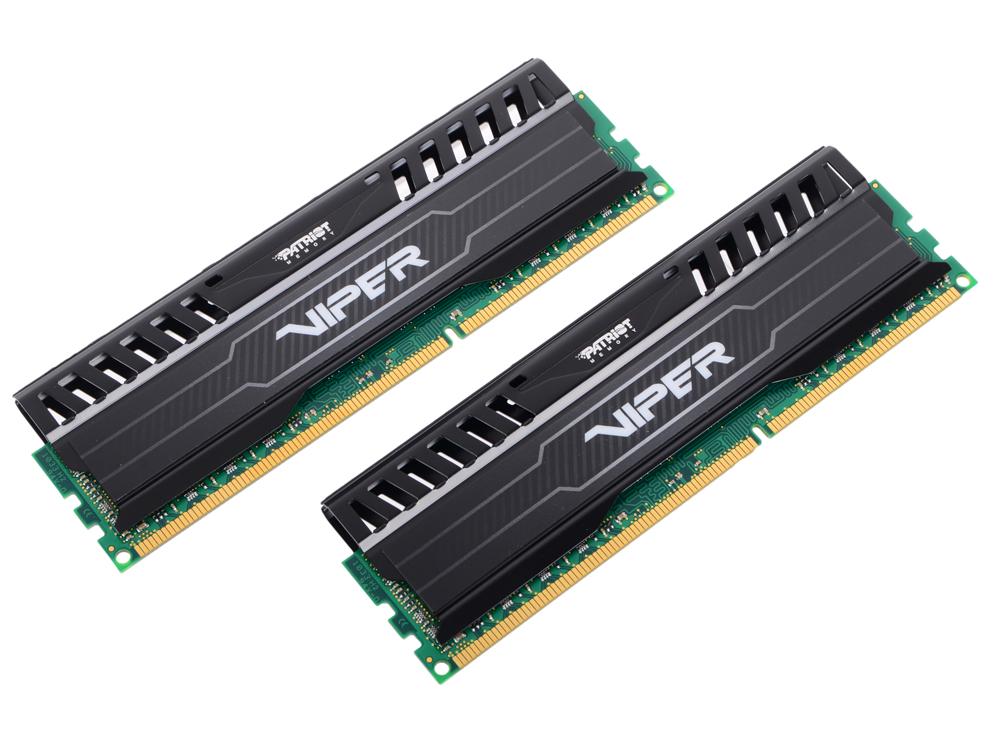 цена на Оперативная память Patriot Memory Viper3 PV316G160C0K DIMM 16GB DDR3 1600MHz DIMM 240-pin/PC-12800/CL10