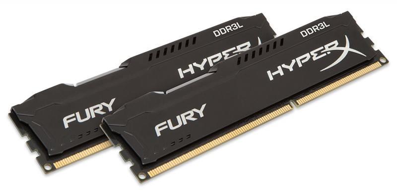 Оперативная память Kingston (HX316LC10FBK2/8) DIMM 8GB (2x4Gb) DDR3L 1600MHz DIMM 240-pin 1.35В/PC-12800/CL10