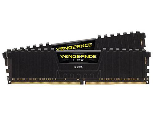Оперативная память Corsair CMK16GX4M2Z2400C16 DIMM 16Gb (2x8Gb) DDR4 2400MHz DIMM 288-pin x 4/PC-19200/CL16 оперативная память corsair cmk4gx4m1a2400c14r dimm 4gb ddr4 2400mhz dimm 288 pin 1 2в pc 19200 cl15