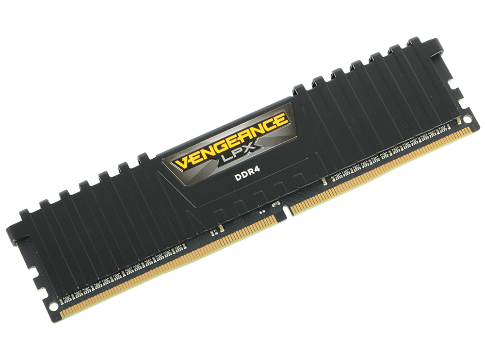 Оперативная память Corsair CMK4GX4M1D2400C14 DIMM 4GB DDR4 2400MHz DIMM 288-pin/PC-19200/CL14 цена и фото