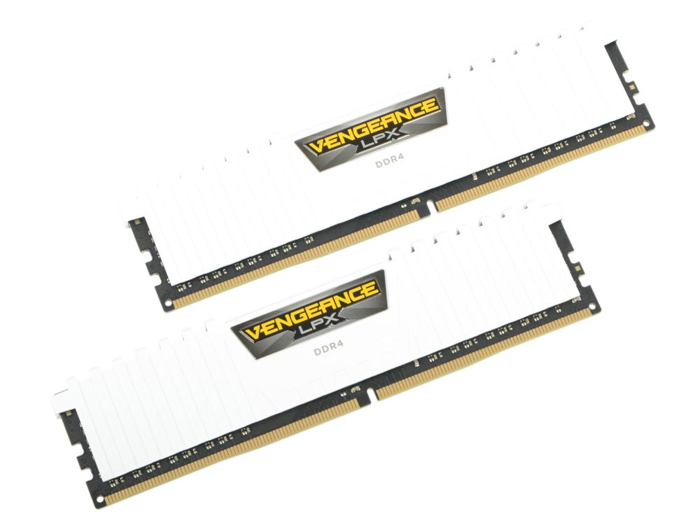 Оперативная память Corsair Vengeance LPX CMK32GX4M2A2666C16W DIMM 32GB (2x16GB) DDR4 2666MHz
