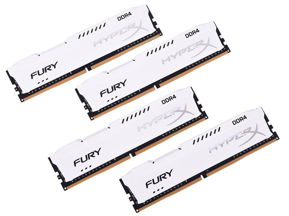 Оперативная память Kingston HX424C15FW2K4/32 DIMM 32Gb (4x8Gb) DDR4 2400MHz DIMM 288-pin/PC-19200/CL15