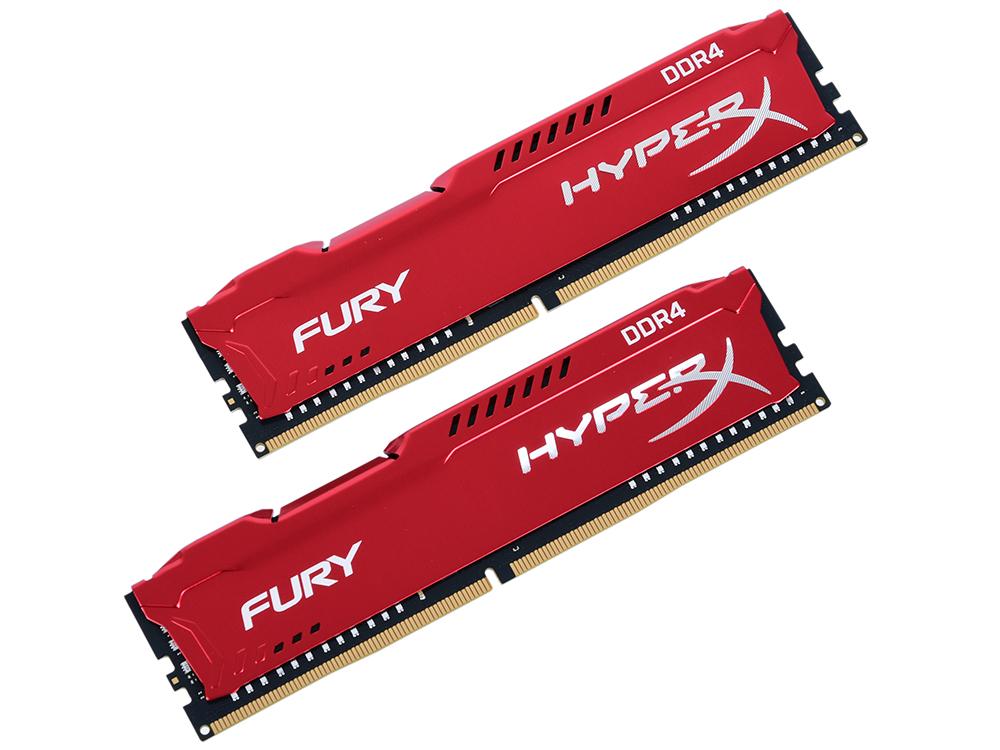 Оперативная память Kingston HX424C15FR2K2/16 DIMM 16Gb(2x8Gb) DDR4 2400MHz DIMM 288-pin/PC-19200/CL15 оперативная память corsair cmk4gx4m1a2400c14r dimm 4gb ddr4 2400mhz dimm 288 pin 1 2в pc 19200 cl15